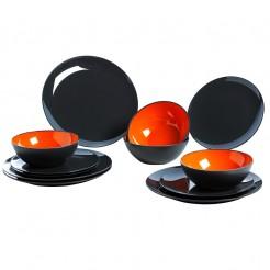 Melaminové nádobí Grey Line orange