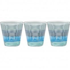 Sada sklenic Brunner Spectrum modrá 300 ml, 3 ks