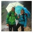 Outdoorový deštník Light Trek světle modrý