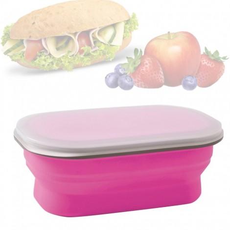 Svačinový box Brunner Snack růžový 0,6 l