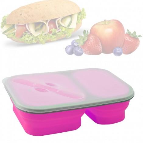 Svačinový box Brunner Snack růžový