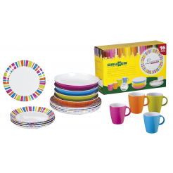 Melaminové nádobí Brunner Spectrum - Set Lunch Box