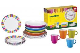 Melaminové nádobí Brunner Spectrum - Set Lunch Box