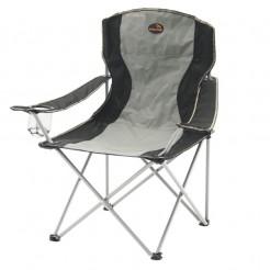 Skládací kempingová židle Easy Camp Arm Chair šedá