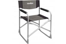 Skládací kempingová židle Brunner Captain šedé