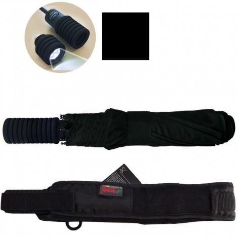Outdoorový deštník Light Trek automatik flashlite černý