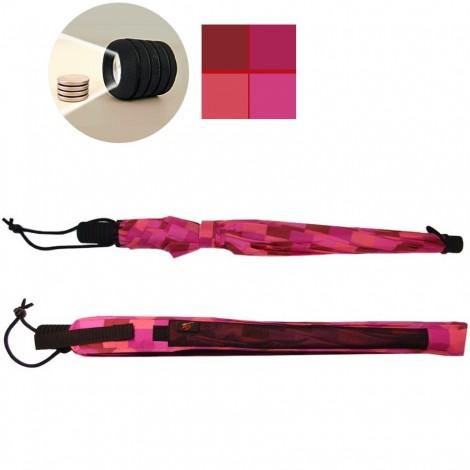 Trekingový deštník Swing flashlite růžový