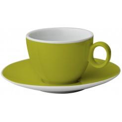 Hrnek Espresso Brunner zelený - set 2ks