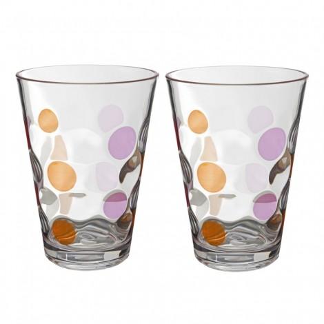 Sada sklenic Brunner Baloons růžová 350 ml, 2 ks