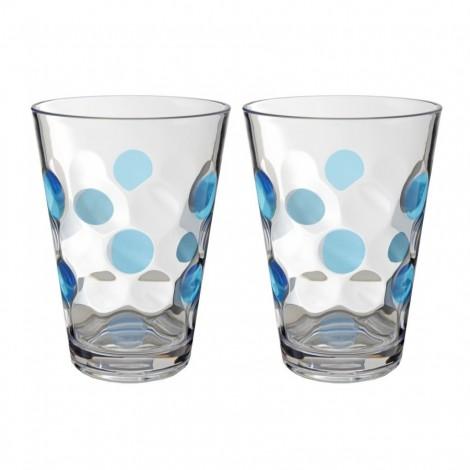 Sada sklenic Brunner Baloons modrá 350 ml, 2 ks