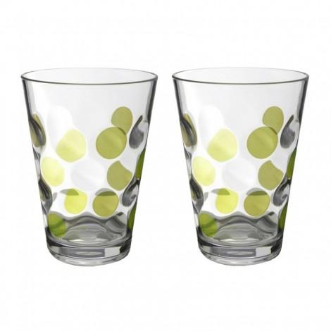 Sada sklenic Brunner Baloons zelená 350 ml, 2 ks