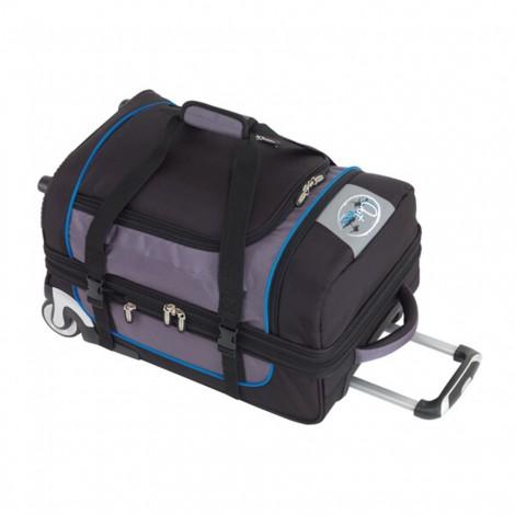 Cestovní taška na kolečkách Check.In Outbag Sports modrá 59 l - výprodej