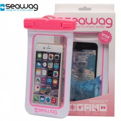 Vodotěsné pouzdro Seawag Smartphone bílé/růžové