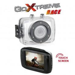 Outdoorová kamera GoXtreme Race stříbrná