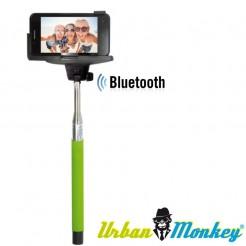 Teleskopická selfie tyč Urban Monkey zelená