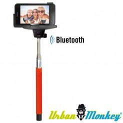 Teleskopická selfie tyč Urban Monkey červená