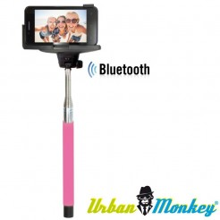 Teleskopická selfie tyč Urban Monkey růžová