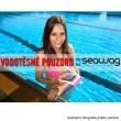 Vodotěsné pouzdro Seawag Smartphone černorůžové