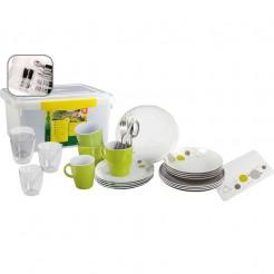 Melaminové nádobí Brunner Space - Set All Inclusive