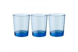 Sada sklenic Brunner Multiglas modrá 300 ml, 3ks