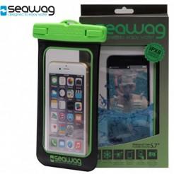 Vodotěsné pouzdro Seawag Smartphone černé/zelené