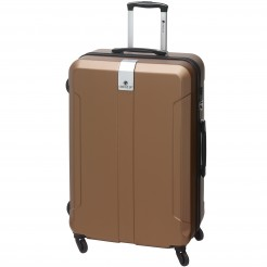 Cestovní kufr Check.In Riga měděný 90 l