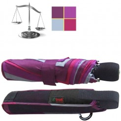 Outdoorový deštník Light Trek fialovorůžový