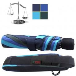 Outdoorový deštník Light Trek modrozelený