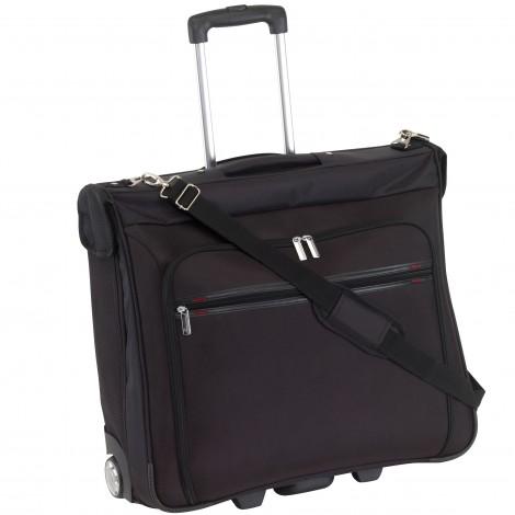 Business taška na kolečkách Check.In Bonn černá 50 l - výprodej