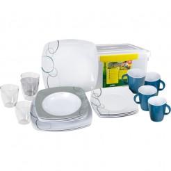Melaminové nádobí Brunner Cascade - Set All Inclusive
