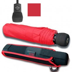 Outdoorový deštník Light Trek automatik červený