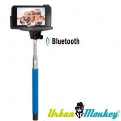 Teleskopická selfie tyč Urban Monkey modrá