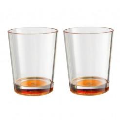 Sada sklenic Brunner Multiglas oranžová 300 ml, 2 ks