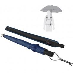 Trekingový deštník Swing handsfree tmavě modrý