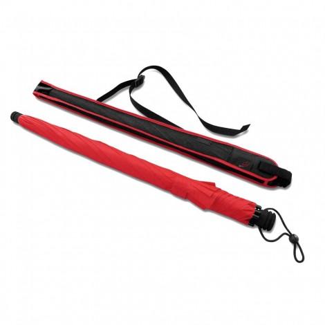 Trekingový deštník Swing liteflex červený