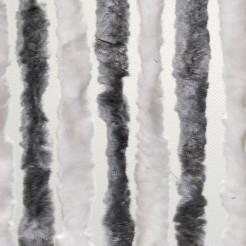 Dveřní závěs Brunner šedá/bílá - pro karavan