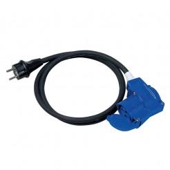 Připojovací kabel Brunner 230v 1,5 m - s rohovou zásuvkou