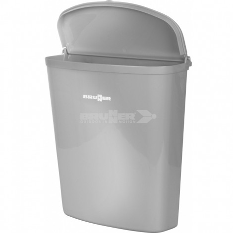 Odpadkový koš Brunner Pillar šedý