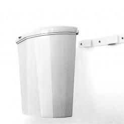 Odpadkový koš Brunner Pillar XL bílý