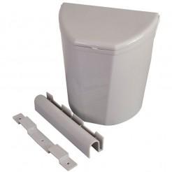 Odpadkový koš Brunner Pillar XL šedý