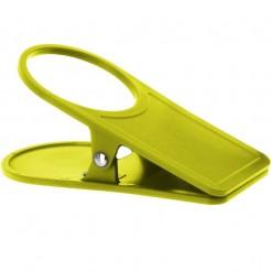 Držák nápojů Clip- zelený