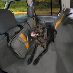 Deka pro psy do auta černá