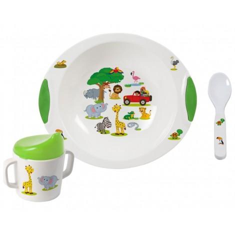 Jídelní sada pro děti Brunner Jungle Baby 6M+