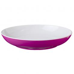 Hluboký talíř Brunner Spectrum růžový 21cm