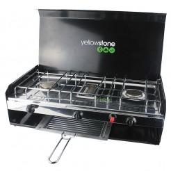Kempingový plynový vařič Yellowstone Deluxe Double