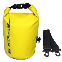 Vodotěsný vak OverBoard 5 l žlutý