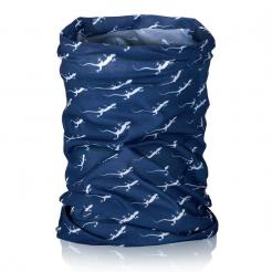 Šátek multifunkční Nordsen Kalahari bílo-modrý