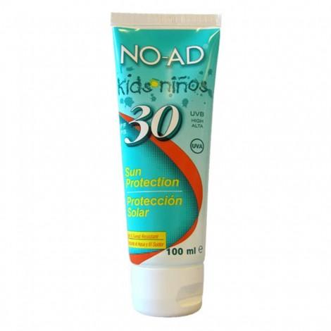 Krém na opalování No-Ad SPF 30 Kids 100 ml