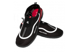 Dámské boty do vody Aqua Speed černočervené