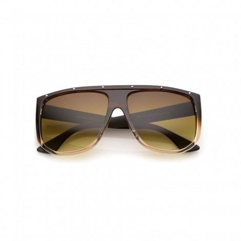 Sluneční brýle Zaqara Cristina hnědé
